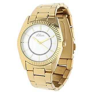 sOliver-Damen-Armbanduhr-Analog-Quarz-IP-Gold-SO-15138-MQR