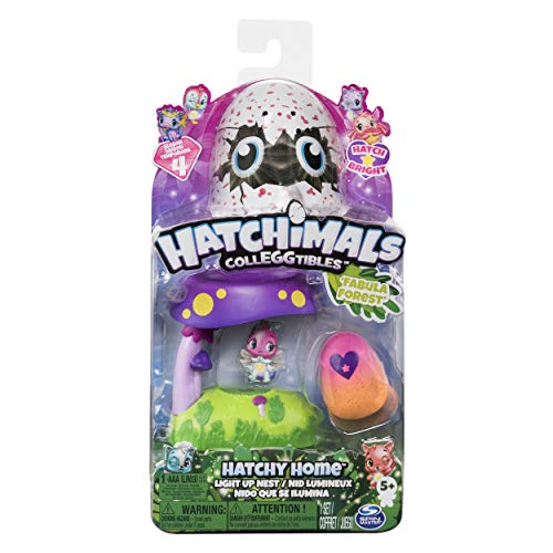 HATCHIMALS CASA Nido with LIGHT AND FABULA Forest Includes Figure Mod. SDOS, (Spin Master Toys 6044122)