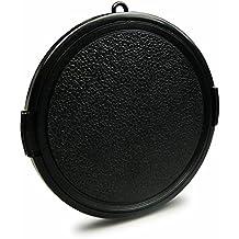 Tapa de objetivo snap-on 55 mm para Canon EOS 1100D | 550D | 600D - Sony Alpha 100 | Alpha 200 | Alpha 230
