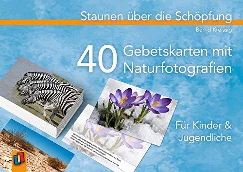 höpfung: 40 Gebetskarten mit Naturfotografien - Für Kinder und Jugendliche ()