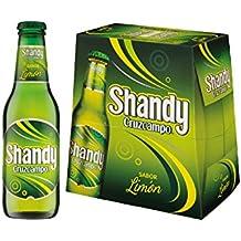 Cruzcampo Shandy Cerveza con Sabor a Limón - Pack de 6 x 25 cl - Total