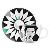 Ritzenhoff 1580121 My Little Darling Design Espressotasse mit Untertasse, Virginia Romo, Herbst 2015