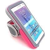 Brassard sportif Soutien à l'épreuve de l'autonomie du téléphone pour iphone 7 Plus 6 Plus 6s Plus (5,5 pouces) Samsung Galaxy Note 5 4 3 Note Edge S5 S6 S7 Edge Plus
