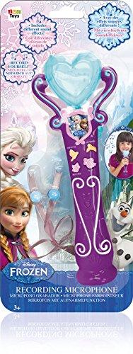 IMC Toys 16064FR - Frozen Mikrofon mit Aufnahmefunktion