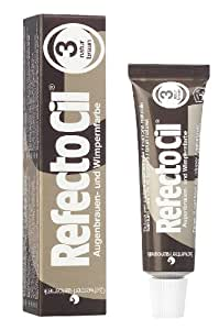 GWCosmetics Refectocil Augenbrauen und Wimpernfarbe, naturbraun, 1er Pack (1x 15 ml)