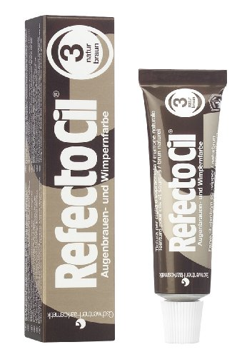 RefectoCil Henna 3 Brown Tinte Blanqueamiento Cejas   15 ml