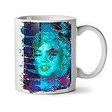 Wellcoda MARILYN MONROE Foto Feminine weiß Tee Kaffee Keramik Becher 11OZ