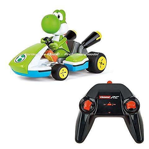 Carrera RC 370162108 - Mario KartTM, Yoshi - Race Kart mit Sound