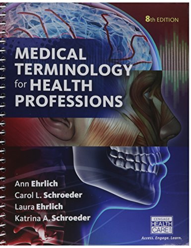 Bundle: Medical Terminology for Health Professions, 8th + Merriam-Webster's Medical Desk Dictionary, Revised Edition, 3rd + LMS Integrated for MindTap ... 2 terms (12 months) Printed Access Card by Ann Ehrlich (2016-01-01)
