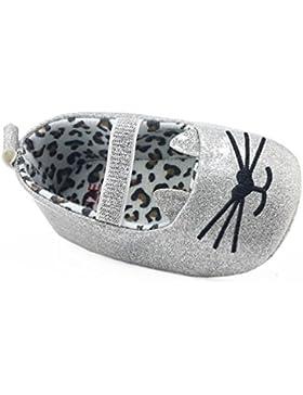 URSING Säugling Neugeboren Kleinkind Baby Glänzend Katze Muster Mädchen Krippe Schuhe Weiche Sohle Turnschuhe