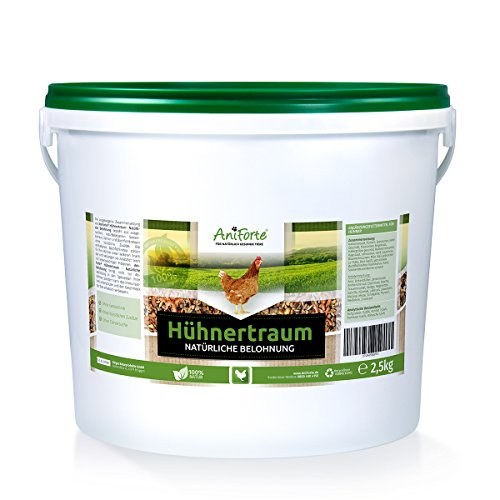 AniForte Hühnertraum Gesunde Belohnung 2,5 kg - Naturprodukt für Hühner (Huhn Protein)