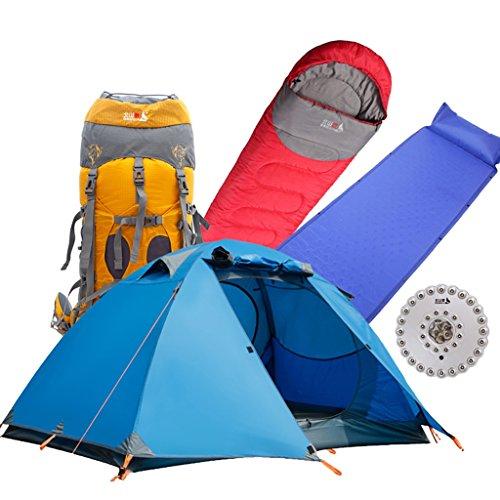 Zelt/ DELLT- Outdoor Einzelne Aluminium Ruten Feld Campingpaket Regen (Kohle-gewebe Freien Im)