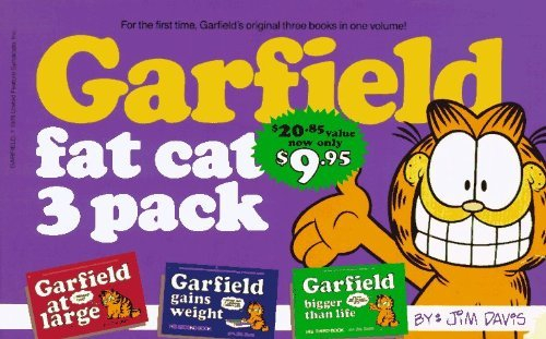 Garfield Fat Cat 3- Pack by Davis, Jim (1993) Paperback