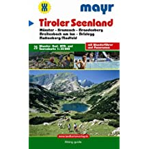 Mayr Karten. Tiroler Seenland am Rofan. Münster, Kramsach, Brandenberg, Breitenbach am Inn, Brixlegg, Rattenberg/Radfeld