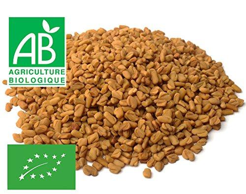 Fenugrec Bio graines entières à germer 200g