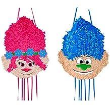 Piñata Trolls mediana Chica