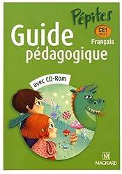 Français CE1 Pépites : Guide pédagogique (1Cédérom)