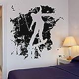 BFMBCH Skateboard Wandaufkleber Extremsport Vinyl Aufkleber Home Interior Hochwertige Schlafzimmer...