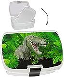 Unbekannt Lunchbox / Brotdose -  Dinosaurier / Tyrannosaurus Rex  - mit Extra Einsatz ..