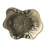 tandou Tee Untersetzer Sieben verschiedenen Formen Metall Ahorn Lotus Leaf Teetasse Matte Pad Halter Tisch-Sets Geschirr, Legierung, 08
