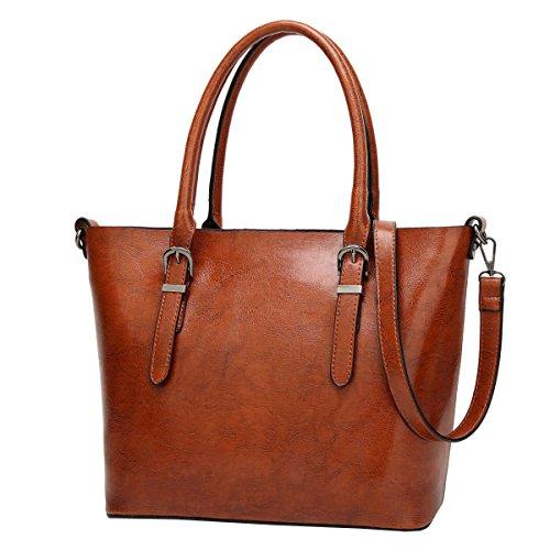 Spalla Di Grande Capacità LAIDAYE La Signora Della Moda Messenger Bag Brown