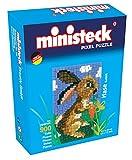 Ministeck 32558 - Box Hase mit Hintergrund, mehrfarbig
