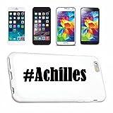 Handyhülle Sony Xperia Z3 Hashtag ... #Achilles ... im Social Network Design Hardcase Schutzhülle Handycover Smart Cover für Sony Xperia Smartphone … in Weiß … Schlank und schön, das ist unser HardCase. Das Case wird mit einem Klick auf deinem Smartphone befestigt