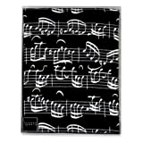 Vienna World: Apron - Sheet Music (Black)