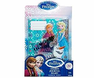 Disney Frozen Agenda Diario, Color Morado y Azul, 23 x 15 cm (Cife Spain 740504)