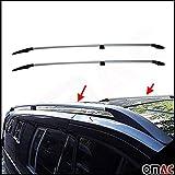 Omtec Vito Viano Classe V W639 W447 Côté Rails Barres de Toit Rangements Extra Long
