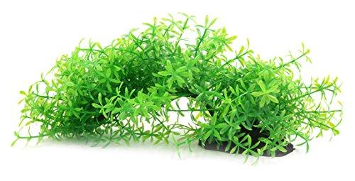 Für Guppys Aquarium Pflanzen (uxcell Aqua Landschaft Decor Aquarium, Das Oscar Guppy ZWERGBUNTBARSCH Betta Kunststoff Pflanze)