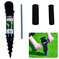 Marko Homewares Screw In Ground Spike Base Rotary Clothes Washing Line Parasol Holder Soil Stand