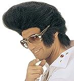Panelize Rockn Roll Perücke + Rockn Roll Brille King Popstar 60er 70er Jahre