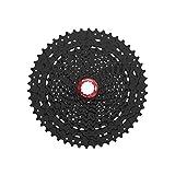 Sunrace - Casete de piñones para mountain bike, proporción amplia MX8, 11 velocidades, 11-50 dientes, negro (Casete para mountain bike)