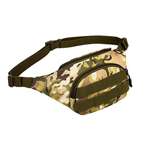 cedaract Military Outdoor Tasche Taille Tasche Fanny Pack Hip Pack Gürteltasche für Mann Frauen Sport Reisen Laufen Wandern JD