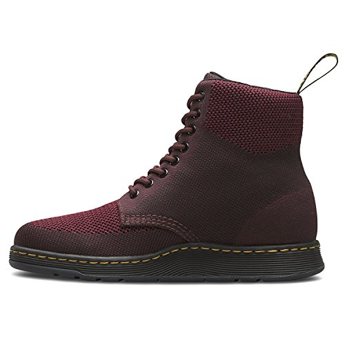 Textiles Los Cargadores Rigal De Dr Oxblood Zapatos Punto martens De Negro q6fFfw