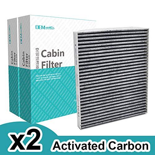 2x auto polline filtro aria abitacolo con carboni attivi per Genesis IX35I40Veloster Rio Carens Sportage 97133-2E20097133-2E210AT P8790-1F200A