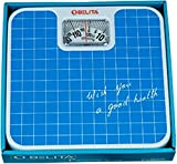 #7: Belita BPS-M-1101 Square Display - Large Surface Personal Analog Weighing Scale upto 120 KG by EzLife