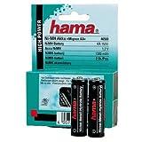 Hama NiMH-Akku Mignon AA (1300mAh) 2er Pack