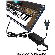 ABC Products® Reemplazo del cable de Yamaha DC 12V / 12V Adaptador Adaptador Fuente de alimentación / Adaptador de corriente PA-5D/PA-150/PA-150A/5D/SEPA6/PA-6/PA-3C/P-AC5C/EP-A3/KP-A3/PA-130/PA4/PA-40/PA-3B/PA-3C/PA-1/PA-1B para Yamaha Teclado electrónico / Keyboards / Digital Piano / Synthesizers / Stage Piano's / Piaggero / Drum Machine