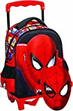 GIM spiderman Sac à dos enfants, 31 cm, Rouge