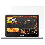 atFolix Schutzfolie kompatibel mit Google Chromebook Flip C302CA ASUS Bildschirmschutzfolie, HD-Entspiegelung FX Folie (2X)
