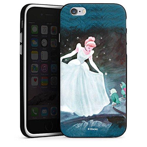 Apple iPhone 7 Plus Hülle Tough Case Schutzhülle Disney Cinderella Merchandise Geschenke Silikon Case schwarz / weiß