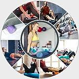 Yoga-Rolle EPS Material / Pilates-Rolle / Schaumstoff-Rolle / Foam-Roller 45 cm oder 90 cm x 15 cm zum Training der Faszien - 6