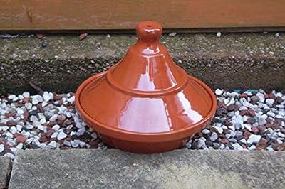 Professional Quality Spanish Terracotta Tagine / Tajine - 22cm diameter by Valdearcos Martos S.A