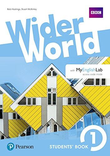 Wider world. Workbook. Per le Scuole superiori. Con 2 espansioni online: Wider World 1 Workbook with Extra Online Homework Pack por Lynda Edwards
