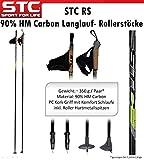 Skate Blade, Rollerstöcke, Nordic Skating Stöcke STC RS 90% Carbon 170 cm