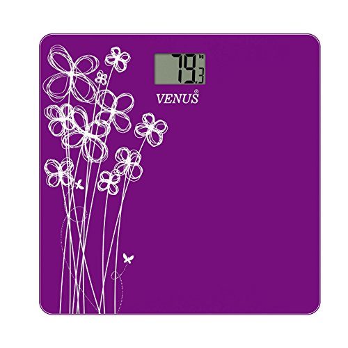Venus Purple Personal Electronic Digital LCD Weight Machine Body Fitness Weighing Bathroom Scale Weight Machine  available at amazon for Rs.999
