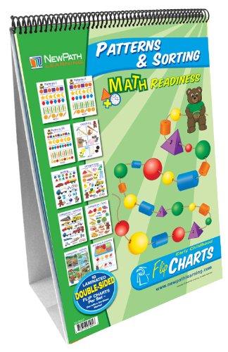 newpath Learning Mustern und Sortieren Curriculum Meisterschaft Flipchart Set, Frühkindliche