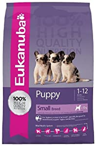 Eukanuba Puppy and Junior Small Breed Dry Food 3 kg from Proctor & Gamble